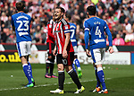 Billy Sharp of Sheffield United during the English League One match at Bramall Lane Stadium, Sheffield. Picture date: April 30th, 2017. Pic credit should read: Jamie Tyerman/Sportimage