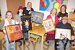 ART ATTACK: Some of the north Kerry artists who will display their work as part of Culture Night at Reuben's Cafe on Ashe Street, Tralee, l-r: Rebecca Carroll, Muiri?osa Murphy, Bob Scott, Marie Brennan, Lisa Fingleton, Liam Brennan.