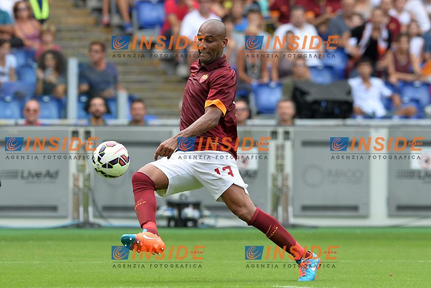 Maicon Roma.<br /> Roma 21-09-2014 Stadio Olimpico. Football Calcio 2014/2015 Serie A. AS Roma - Cagliari. Foto Antonietta Baldassarre / Insidefoto