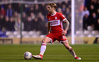 Adam Clayton of Middlesbrough in action during the Sky Bet Championship match between Birmingham City and Middlesbrough at St Andrews, Birmingham, England on 6 March 2018. Photo by Bradley Collyer / PRiME Media Images.