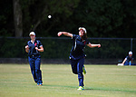 Action from the the New Zealand Secondary Schools 1st XI girls' cricket national finals match between Christchurch Girls' High School and New Plymouth Girls' High School at Manawaroa Park in Palmerston North, New Zealand on Sunday, 3 December 2017. Photo: Dave Lintott / lintottphoto.co.nz