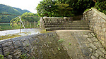 The weir and run-off, Wong Nai Chung Reservoir (1899), Hong Kong Island.