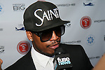 Ne-Yo During an Interview at The 2nd Annual Compound Foundation Benefit Honoring Academy Award-Winning Actor Louis Gossett, JR, Celebrity Photographer Johnny Nunez, Cartoon Network President & COO Stuart C. Snyder hosted by Ne-Yo and Kevin Hart Held at Private Location in East Hamptons, NY