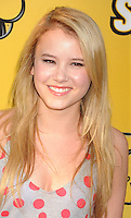 LOS ANGELES, CA - JUNE 05:  Taylor Spreitler attends Disney's 'Let It Shine' Premiere held at The Directors Guild Of America on June 5, 2012 in Los Angeles, California.