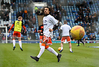 Blackpool's Nya Kirby warming up before the match <br /> <br /> Photographer Andrew Kearns/CameraSport<br /> <br /> The EFL Sky Bet League One - Portsmouth v Blackpool - Saturday 12th January 2019 - Fratton Park - Portsmouth<br /> <br /> World Copyright © 2019 CameraSport. All rights reserved. 43 Linden Ave. Countesthorpe. Leicester. England. LE8 5PG - Tel: +44 (0) 116 277 4147 - admin@camerasport.com - www.camerasport.com