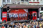 Team presentation with AG2R La Mondiale, Amstel Gold Race, 20th April 2014, Photo by Thomas van Bracht / www.pelotonphotos.com