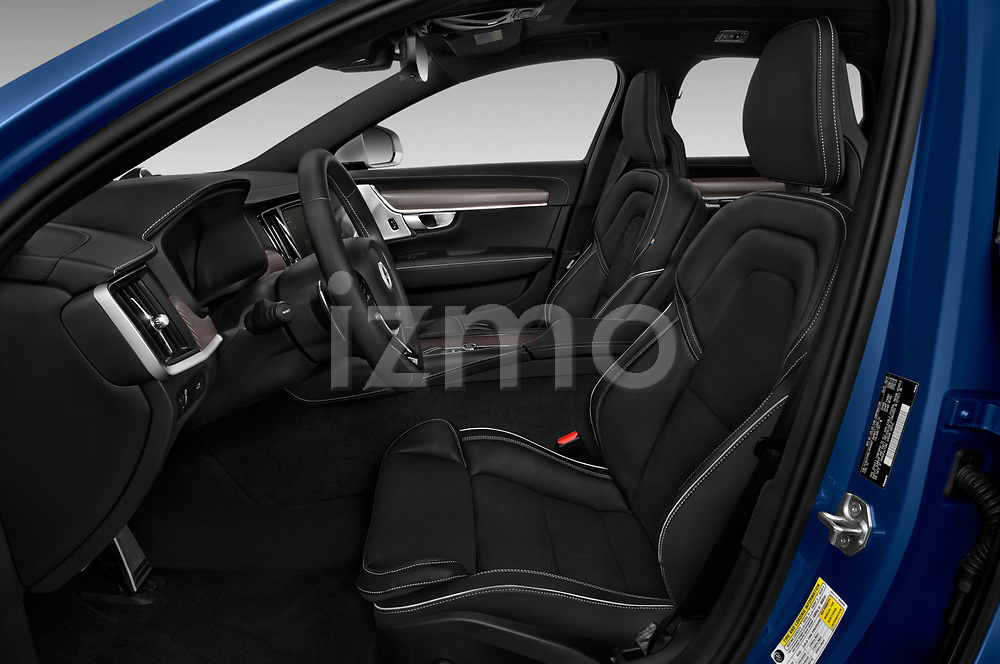 Front seat view of a 2018 Volvo V90 R-Design AWD T6  5 Door Wagon front seat car photos