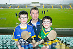 l-r  Jake Clifford, Noel Clifford and Rory Clifford all from Ardfert at Kerry's win over Carlow at Austin Stack's park on Sunday