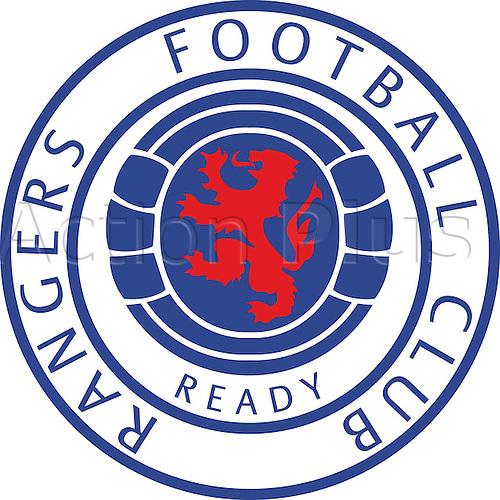 16.09.2000. Glasgow, Scotland. Logo of Glasgow Rangers (Scotland)