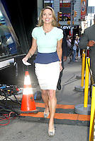 NEW YORK, NY - AUGUST 13, 2012:  Amy Robach host  of Good Morning America in New York City. © RW/MediaPunch Inc.
