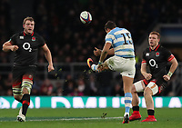 Argentina's Joaquin Tuculet <br /> <br /> Photographer Rachel Holborn/CameraSport<br /> <br /> International Rugby Union Friendly - Old Mutual Wealth Series Autumn Internationals 2017 - England v Argentina - Saturday 11th November 2017 - Twickenham Stadium - London<br /> <br /> World Copyright &copy; 2017 CameraSport. All rights reserved. 43 Linden Ave. Countesthorpe. Leicester. England. LE8 5PG - Tel: +44 (0) 116 277 4147 - admin@camerasport.com - www.camerasport.com
