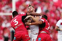 Elliott Whitehead of England on the charge. 2017 Rugby League World Cup Semi Final, England v Tonga at Mt Smart Stadium, Auckland, New Zealand. 25 November 2017 © Copyright Photo: Anthony Au-Yeung / www.photosport.nz MANDATORY BYLINE/CREDIT : Andrew Cornaga/SWpix.com/PhotosportNZ