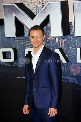 LONDON, ENGLAND - MAY 9: James McAvoy attending the 'X-Men: Apocalypse' - Global Fan Screening at BFI IMAX in London on May 9, 2016 in London, England.<br /> CAP/MAR<br /> &copy; Martin Harris/Capital Pictures /MediaPunch ***NORTH AND SOUTH AMERICAN SALES ONLY***