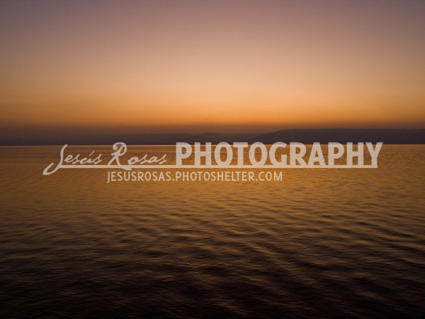 Dawn at the Sea of Galilee<br />