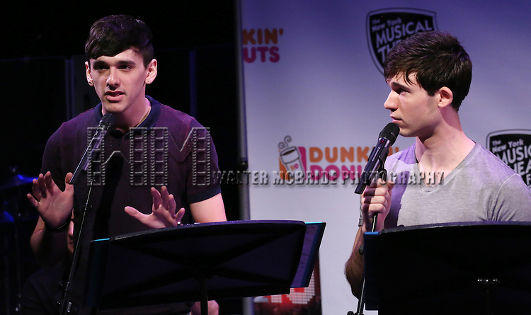 'Crossing Swords' featuring Lyle Colby Mackston and Marrick Smith  Performing at The New York Musical Theatre Festival - Special Preview at The Studio Theatre on July 2, 2013 in New York City.