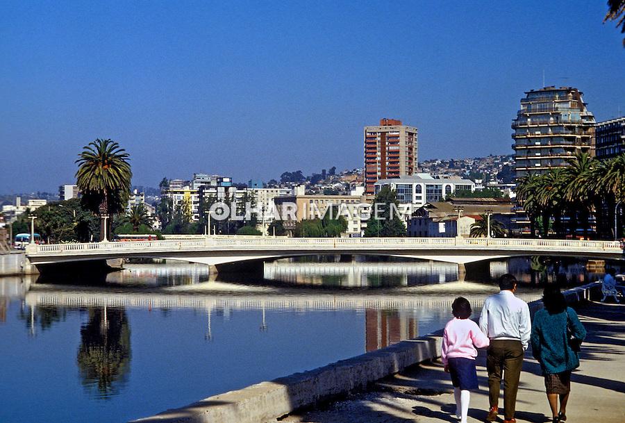 Vista da cidade de Viña dem Mar no Chile. 1993. Foto de Salomon Cytrynowicz.