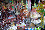 Spices And Food Items In Market