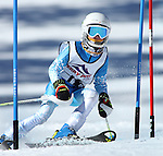 LEAD, SD - JANUARY 31, 2016 -- Carson Klug works through the slalom in the U10 category during the 2016 USSA Northern Division Ski Races at Terry Peak Ski Area near Lead, S.D. Sunday. (Photo by Richard Carlson/dakotapress.org)