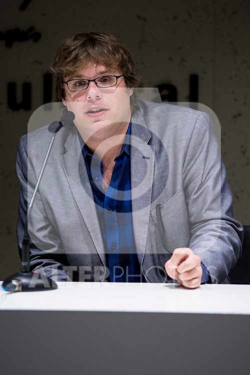 "American producer Kyle Steinike during the press conference of the film ""Patient"" during the Madrid International Fantastic Film Festival Nocturna in Madrid. May 25 2016. (ALTERPHOTOS/Borja B.Hojas)"