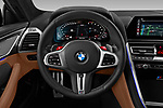 Car pictures of steering wheel view of a 2020 BMW M8 M8-Competition 2 Door Coupe Steering Wheel