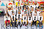 "Moyderwell National school 1st Class getting ready for their ""Children of the World"" Christmas  play on Wednesday morning."