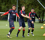 James Tavernier, Jordan Rossiter and Graham Dorrans