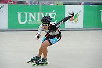 INLINE-SKATEN: HEERDE: Skeeler- en Skatecentrum Hoornscheveen, Europa Cup/Univé Skate Off, 05-05-2012, Lim Seon KOR (#21), ©foto Martin de Jong