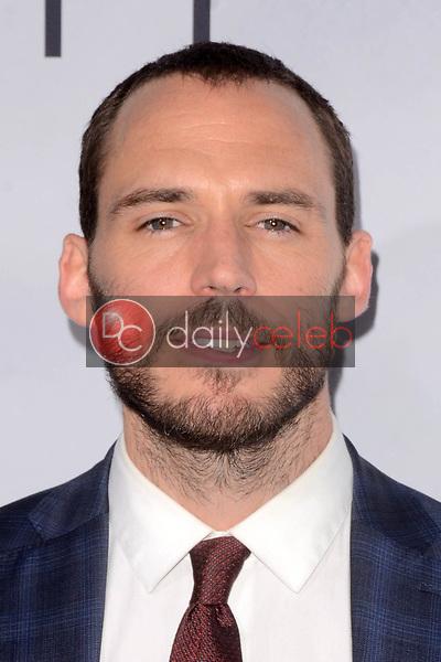 "Sam Claflin<br /> at the ""Adrift"" World Premiere, Regal Cinemas L.A. Live, Los Angeles, CA 05-23-18<br /> David Edwards/DailyCeleb.com 818-249-4998"