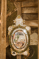Europe/France/Aquitaine/40/Landes/ Mugron: Rouge Garance magasin de décoration installé dans un ancien chai