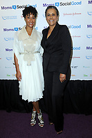 www.acepixs.com<br /> May 4, 2017  New York City<br /> <br /> Kimberly Chandler and her mother attending the kick off event for  Moms + SocialGood Global Moms Relay campaign founded by Johnson &amp; Johnson and United Nations Foundation to improve the wellbeing of families around the world on May 4, 2017 in New York City.<br /> <br /> Credit: Kristin Callahan/ACE Pictures<br /> <br /> <br /> Tel: 646 769 0430<br /> Email: info@acepixs.com