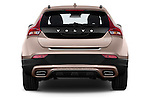 Straight rear view of a 2013 Volvo V40 Cross Country Summum Hatchback