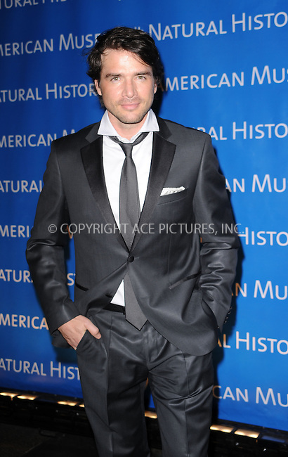 WWW.ACEPIXS.COM . . . . . ....April 15 2010, New York City....Matthew Settle arriving at the 2010 AMNH Museum Dance at the American Museum of Natural History on April 15, 2010 in New York City....Please byline: KRISTIN CALLAHAN - ACEPIXS.COM.. . . . . . ..Ace Pictures, Inc:  ..(212) 243-8787 or (646) 679 0430..e-mail: picturedesk@acepixs.com..web: http://www.acepixs.com