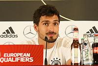 Mats Hummels (Deutschland Germany) - 31.08.2017: Pressekonferenz Deutschland in Prag, Marriott Hotel