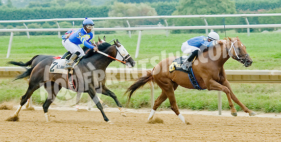 Bet the Power winning The Stonewall Farm Ocala-Hockessin Stakes before being disqualified at Delaware Park on 7/28/12 - Picko's Pride was put up as winner earning jockey Ricardo Santana, Jr. his first stakes win