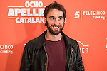 "Spanish actor Dani Rovira during the presentation of the film ""Ocho Apellidos Catalanes"" in Madrid, November 17, 2015.<br /> (ALTERPHOTOS/BorjaB.Hojas)"