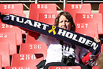 18 JUN 2010: A Stuart Holden fan. The Slovenia National Team played the United States National Team to a 2-2 at Ellis Park Stadium in Johannesburg, South Africa in a 2010 FIFA World Cup Group C match.