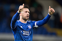 Luke Chambers of Ipswich Town gives the thumbs up following the hosts comprehensive victory during Ipswich Town vs Accrington Stanley, Sky Bet EFL League 1 Football at Portman Road on 11th January 2020