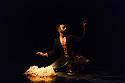"Kathak dancer, Aakash Odedra, dances ""Echoes"", choreographed by Aditi Mangaldas, in a double bill (alongside ""I Imagine""), in the Lilian Baylis Studio, Sadler's Wells."