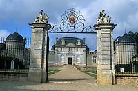Europe/France/Aquitaine/33/Gironde/Sauternais/Preignac: Le Château de Malle (XVIIème) - Bâtiment classé mnument historique