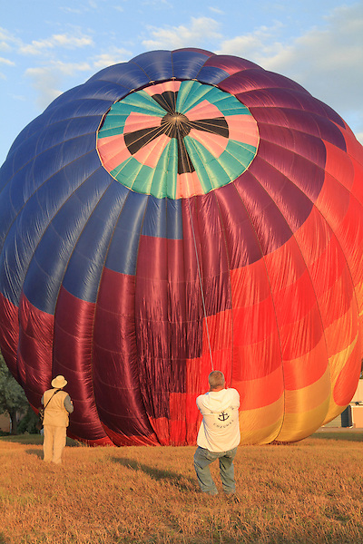Hot air balloon, Boulder, Colorado, USA.