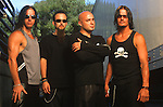 Various portraits & live photographs of the rock band, Disturbed