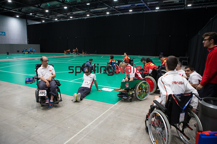 BISFed 2018 World Boccia Championships <br /> Exhibition Centre Liverpool<br /> 17.08.18<br /> &copy;Steve Pope<br /> Sportingwales
