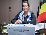 BRUSSELS - BELGIUM - 25 November 2016 -- European Training Foundation (ETF) Governing Board meeting. -- Micheline Scheys, Secretary General - Flemish Ministry of Education and Training. -- PHOTO: Juha ROININEN / EUP-IMAGES