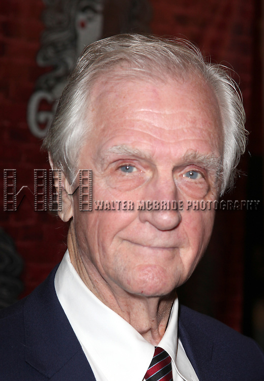 Producer Edgar Lansbury.arriving for the Opening Night Performance of the Broadway Revival of 'Godspell' at Circle in the Square Theatre in New York City.