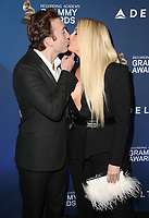 WEST HOLLYWOOD, CA - FEBRUARY 7: Daryl Sabara and Meghan Trainor at the Delta Air Line 2019 GRAMMY Party at Mondrian LA in West Hollywood, California on February 7, 2019.   <br /> CAP/MPI/SAD<br /> ©SAD/MPI/Capital Pictures