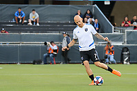SAN JOSE, CA - JULY 06: Magnus Eriksson #7 during a Major League Soccer (MLS) match between the San Jose Earthquakes and Real Salt Lake on July 06, 2019 at Avaya Stadium in San Jose, California.