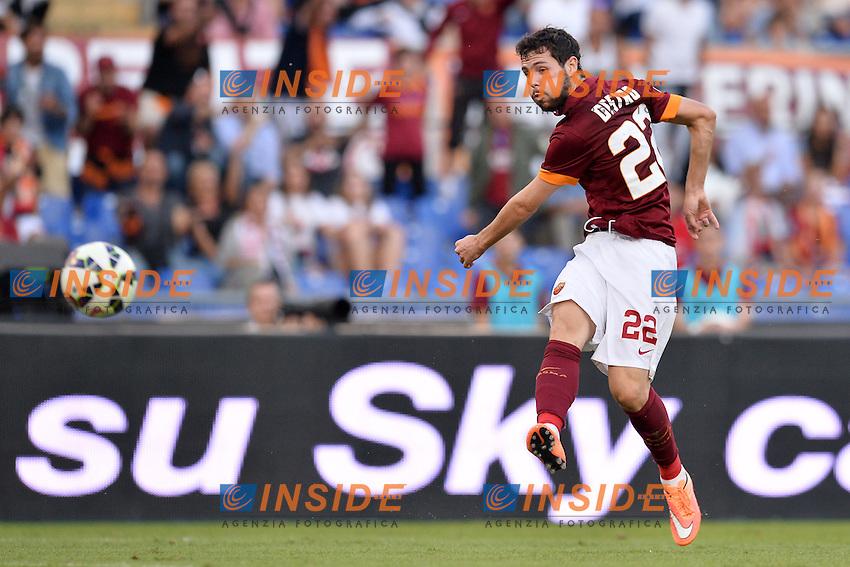 Mattia Destro Roma.<br /> Roma 27-09-2014 Stadio Olimpico. Football Calcio 2014/2015 Serie A. AS Roma - Hellas Verona. Foto Antonietta Baldassarre / Insidefoto