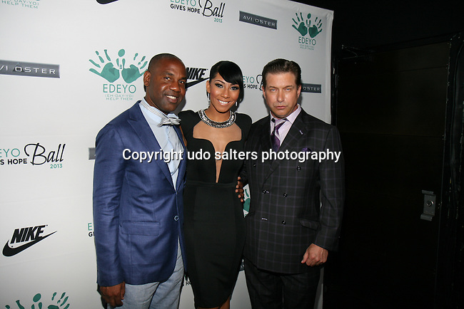 Attends Unik Ernest's Edeyo Gives Hope Ball Held at the Highline Ballroom, NY