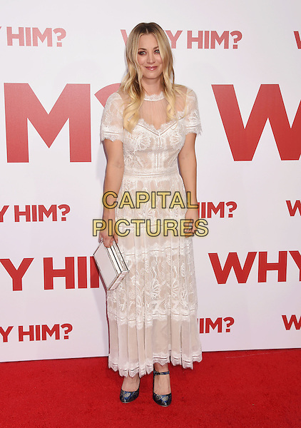 WESTWOOD, CA - DECEMBER 17: Actress Kaley Cuoco  attends the premiere of 20th Century Fox's 'Why Him?' at the Regency Bruin Theater on December 17, 2016 in Westwood, California.<br /> CAP/ROT/TM<br /> &copy;TM/ROT/Capital Pictures