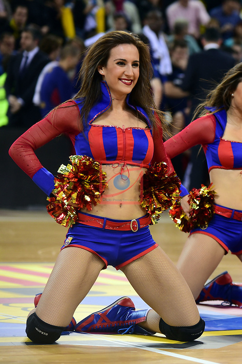 Turkish Airlines Euroleague 2016/2017.<br /> Regular Season - Round 22.<br /> FC Barcelona Lassa vs Galatasaray Odeabank Istanbul: 62-69.<br /> Dream Cheers.